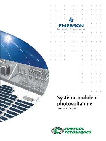 Système onduleur photovoltaïque - Control Techniques