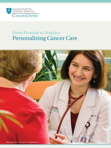 Personalizing Cancer Care - Massachusetts General Hospital