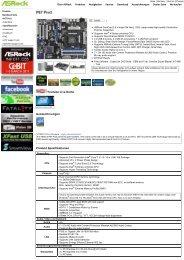 ASRock > Produkte > P67 Pro3
