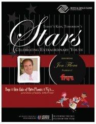 celebrating extraordinary youth - BGCMP 2012 Stars Event