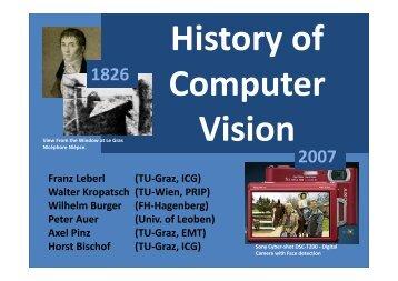 Wilhelm Burger (FH Hagenberg) - the Institute for Computer ...