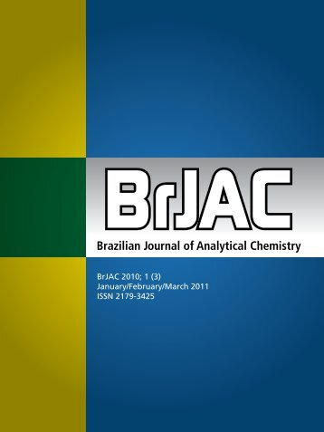 Brazilian Journal of Analytical Chemistry - BRJAC - Brazilian Journal ...