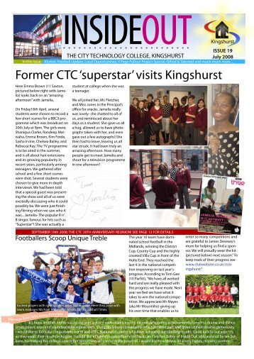 Did You Know? - CTC Kingshurst Academy