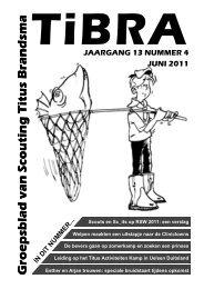 jaargang 13 nummer 4 juni 2011 - Scouting Titus Brandsma