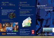 Gewinnen Einkaufsnächte Foto Aktion - Altstadt Salzburg