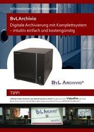 BvL ARCHIVIO Kundenbroschüre - EFK