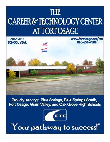 CTC Brochure for Potential Students - Career & Technology Center