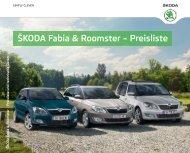 Fabia Preisliste (497,3 KB) - Skoda