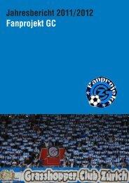 Jahresbericht 2011/2012 Fanprojekt GC