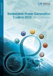 Renewable Generation Costs 2012