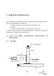 3 Vergleich der Abstandssensoren - Elektro Essig