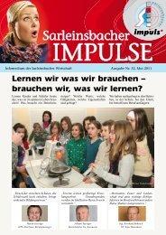 Impulse 32, Mai 2011 neue Datei.indd - Marktgemeinde Sarleinsbach