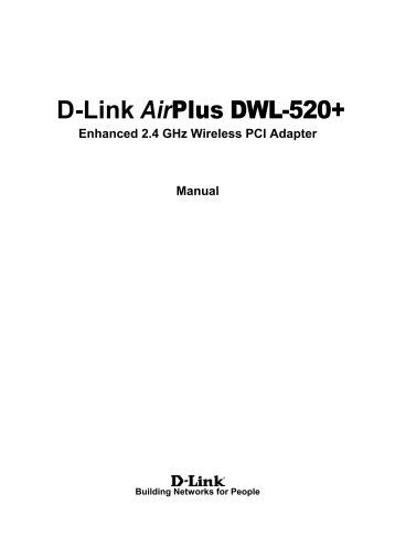 Dlink airplus dwl 520