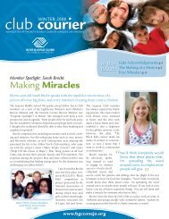 club courier - Boys & Girls Clubs