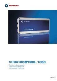 VIBROCONTROL 1000 - Brüel & Kjaer Vibro