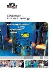 MORGOIL® MORGOIL® Roll Neck Bearings - SMS Siemag AG