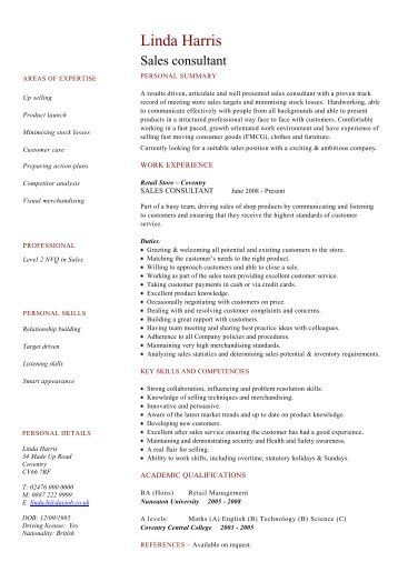 Teaching assistant CV example - Dayjob