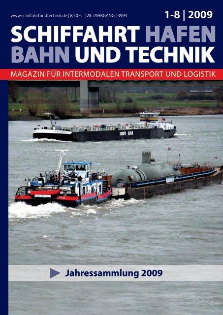 1-8 | 2009 - Schiffahrt und Technik