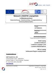 Netzwerk LOGISTIK Leipzig/Halle in Mitteldeutschland