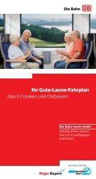 Ihr Gute-Laune-Fahrplan durch Franken und ... - bayerwald-sauna