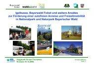 Bayerwald-Ticket, Igelbusse und weitere ... - VCD Bayern