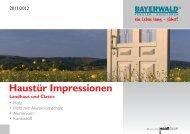 Haustür Impressionen - Bayerwald Fenster & Haustüren