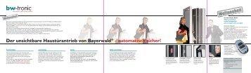120228_folder bw-tonic.indd - Bayerwald Fenster & Haustüren