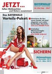 ...SICHERN - Bayerwald Fenster & Haustüren