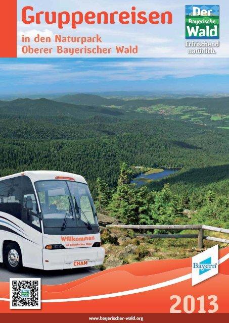 Fahrten ab Regensburg - Naturpark Oberer Bayerischer Wald