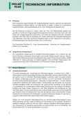 Leitfaden zur Verwendung von Dreifach-Wärmedämmglas - ISOLAR ... - Seite 6