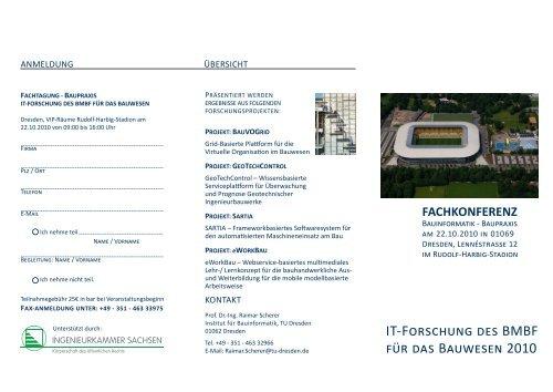 IT-Forschung des BMBF für das Bauwesen 2010