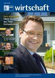 Titelstory - IHK-Wirtschaft (Ausgabe 7/2011) - FIBAV ...