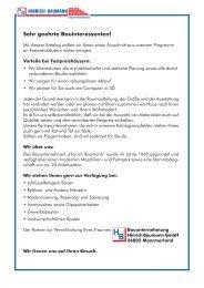 Baubeschreibung - Hinrich Baumann Bauunternehmung GmbH&Co ...