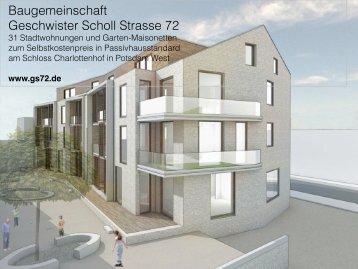 Baugemeinschaft Geschwister Scholl Strasse 72 - Das ...
