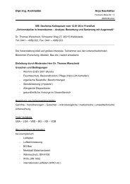Architektur - & Bausachverständigenbüro - Netzwerk Schimmel
