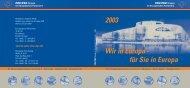 Wir in Europa - für Sie in Europa 2003 - Dr. Thomas Ulmer MdEP
