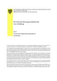 Beschreibung - Bergische Universität Wuppertal
