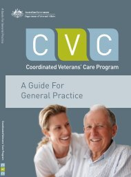Coordinated Veterans' Care Program - A Guide for General Practice