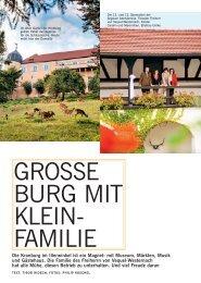 GROSSE BURG MIT KLEIN- FAMILIE - Schloss Kronburg