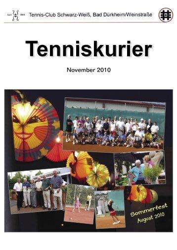 Sommerfest - Tennisclub Schwarz-Weiß Bad Dürkheim