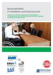 Handbuch Barrierefreiheit in Hotellerie und Gastronomie - DEHOGA ...