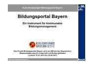 Bildungsportal Bayern - Bayerischer Volkshochschulverband