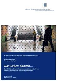 Das Leben danach … - Department Information - HAW Hamburg