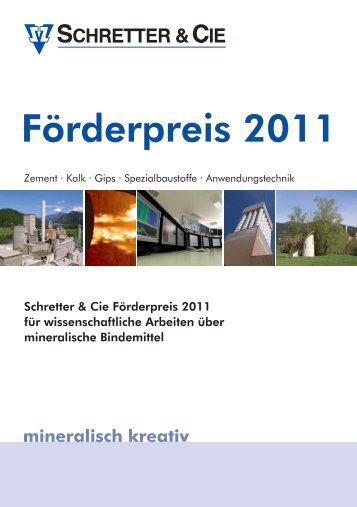 mineralisch kreativ - Schretter & CIE
