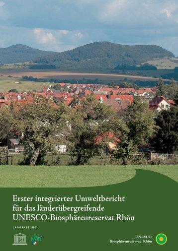 Erster integrierter Umweltbericht für das länderübergreifende ...