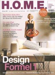Page 1 Wohnen Architektur Februar 2011 Das Magazin aus der ...