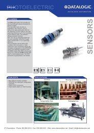 Datasensor S18 Series Tubular Photoelectric Sensor - CTi Automation