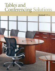 Tables and Conferencing Solutions - McMahan Business Interiors