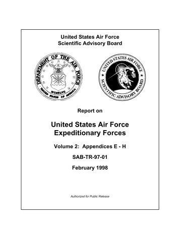 United States Air Force Expeditionary Forces - The Air University