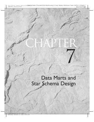 Data Marts and Star Schema Design - Dataspace